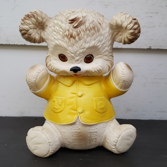 Vintage Edward Mobley Buster Bear Squeaky Toy